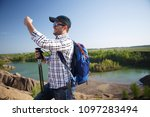 photo of young tourist with... | Shutterstock . vector #1097283494