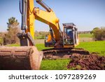 construction of the pipeline.... | Shutterstock . vector #1097289269