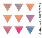 vector gradient reverse... | Shutterstock .eps vector #1097291735
