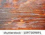 a beautiful wooden background...   Shutterstock . vector #1097309891