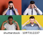 collage of different...   Shutterstock . vector #1097312237