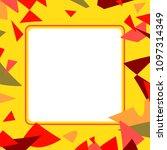 frame art colorful design...   Shutterstock .eps vector #1097314349