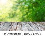 empty table background   Shutterstock . vector #1097317937