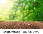 empty table for display montages   Shutterstock . vector #1097317997
