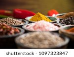 a selection of various colorful ... | Shutterstock . vector #1097323847