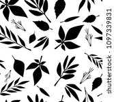 seamless pattern  flat pattern  ... | Shutterstock . vector #1097339831