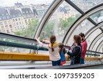 paris   france   may 13  2018 ...   Shutterstock . vector #1097359205