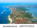 Aerial View Of Bali Island Fro...