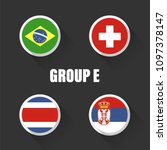 groups football world... | Shutterstock .eps vector #1097378147
