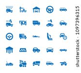 automobile icon. collection of...   Shutterstock .eps vector #1097396315