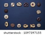 flat lay composition of...   Shutterstock . vector #1097397155