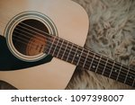 the acoustic guitar | Shutterstock . vector #1097398007