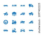 automobile icon. collection of...   Shutterstock .eps vector #1097402225