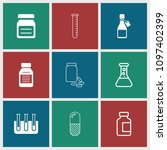 pharmaceutical icon. collection ...   Shutterstock .eps vector #1097402399