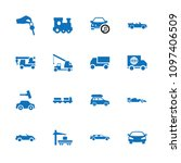 automobile icon. collection of...   Shutterstock .eps vector #1097406509