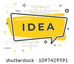 """""""idea' quick tips badge with... 