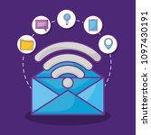 online marketing design   Shutterstock .eps vector #1097430191