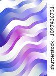 light pink  blue template with... | Shutterstock . vector #1097436731