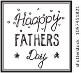 fathers day holiday vector... | Shutterstock .eps vector #1097451821