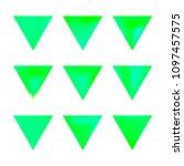 vector gradient reverse... | Shutterstock .eps vector #1097457575