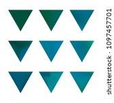 vector gradient reverse... | Shutterstock .eps vector #1097457701
