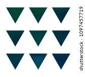 vector gradient reverse... | Shutterstock .eps vector #1097457719