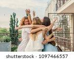 girls party. beautiful women... | Shutterstock . vector #1097466557