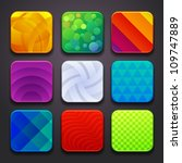 background for the app icons... | Shutterstock .eps vector #109747889