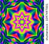 psychedelic art. new...   Shutterstock . vector #1097497001