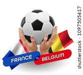 soccer competition  national... | Shutterstock . vector #1097505617