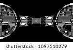 hud futuristic elements data... | Shutterstock .eps vector #1097510279