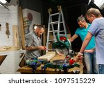 behind the scenes of production ... | Shutterstock . vector #1097515229