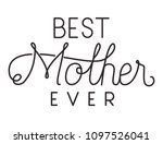 happy mothers day typography... | Shutterstock .eps vector #1097526041