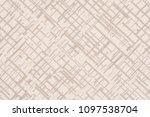 close up of a woolen fabric of... | Shutterstock . vector #1097538704