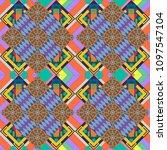 modern geometrical abstract... | Shutterstock . vector #1097547104