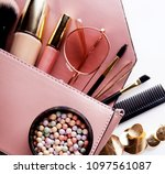 fashion and beauty concept  ... | Shutterstock . vector #1097561087