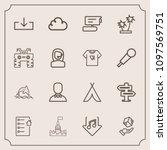 modern  simple vector icon set...   Shutterstock .eps vector #1097569751