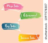 modern gradient promotion...   Shutterstock .eps vector #1097578307