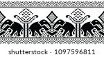 seamless traditional indian... | Shutterstock .eps vector #1097596811