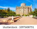 cathedral of maria inmaculada...   Shutterstock . vector #1097608751