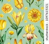 watercolor illustrations of... | Shutterstock . vector #1097615321