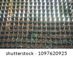 vertical used hanging plant... | Shutterstock . vector #1097620925