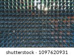 vertical used hanging plant... | Shutterstock . vector #1097620931