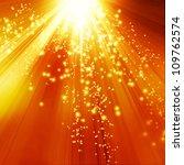 vector golden background with... | Shutterstock .eps vector #109762574