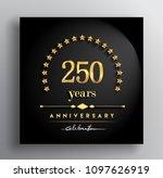 250 years anniversary... | Shutterstock .eps vector #1097626919