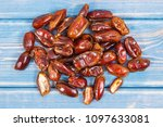 dates containing vitamins and...   Shutterstock . vector #1097633081
