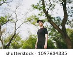 portrait of young athletic...   Shutterstock . vector #1097634335