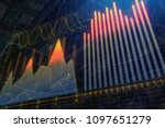 finance  analytics and trade...   Shutterstock . vector #1097651279
