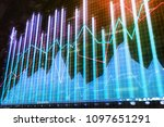 finance  analytics and broker...   Shutterstock . vector #1097651291