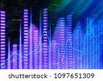 finance  analytics and future...   Shutterstock . vector #1097651309